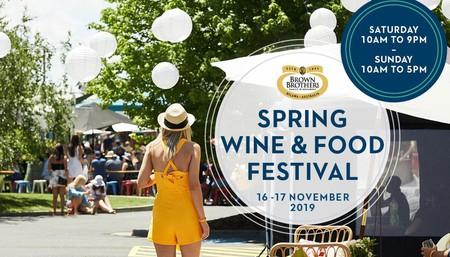 Spring Wine & Food Festival
