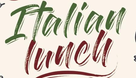 Regional Italian Lunch