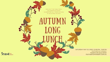 Autumn Long Lunch