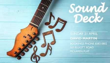 Sound Deck Featuring David Martin