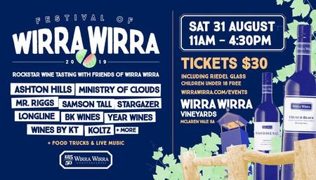 Festival of Wirra Wirra