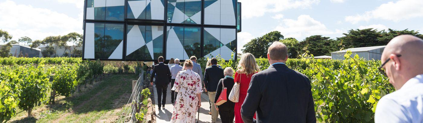 d'Arenberg Opens its Folding Origami Doors
