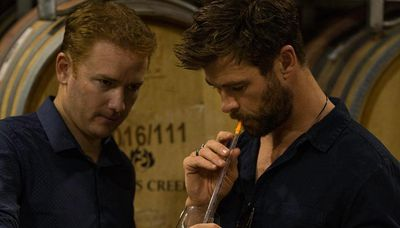 Chris Hemsworth visits the Barossa